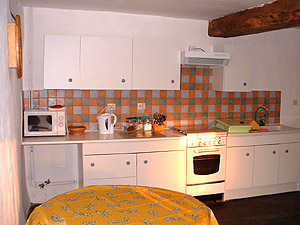Holiday rental - The Kitchen